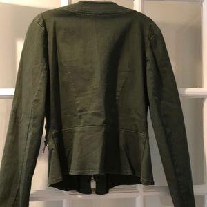 Free People Jackets & Coats - Free people olive green jacket
